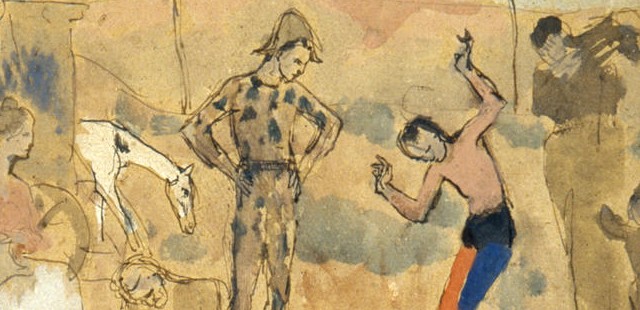 Picasso, Circus Family, 1905 (part.)