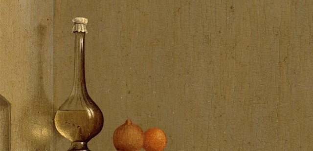 Rogier van der Weyden, Annunciazione, 1434 (part.)