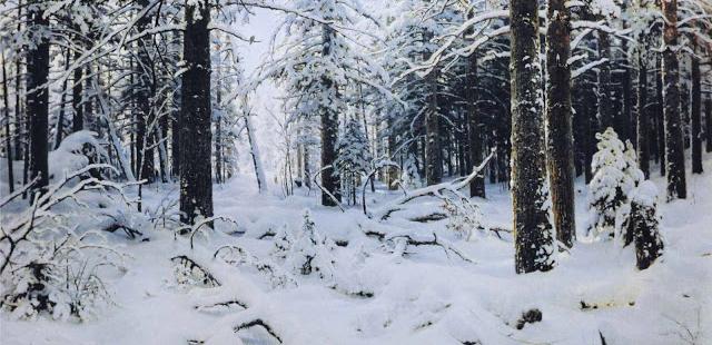 Inverno di Ivan Shishkin, 1890