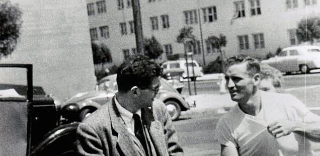 Allen Ginsberg & Neal Cassady